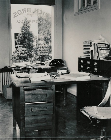 Fick Bros office 1950