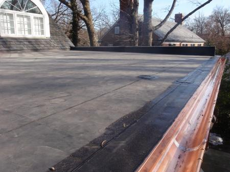 Snow Guards Gutters Amp Epdm Roof Guilford Fick Bros