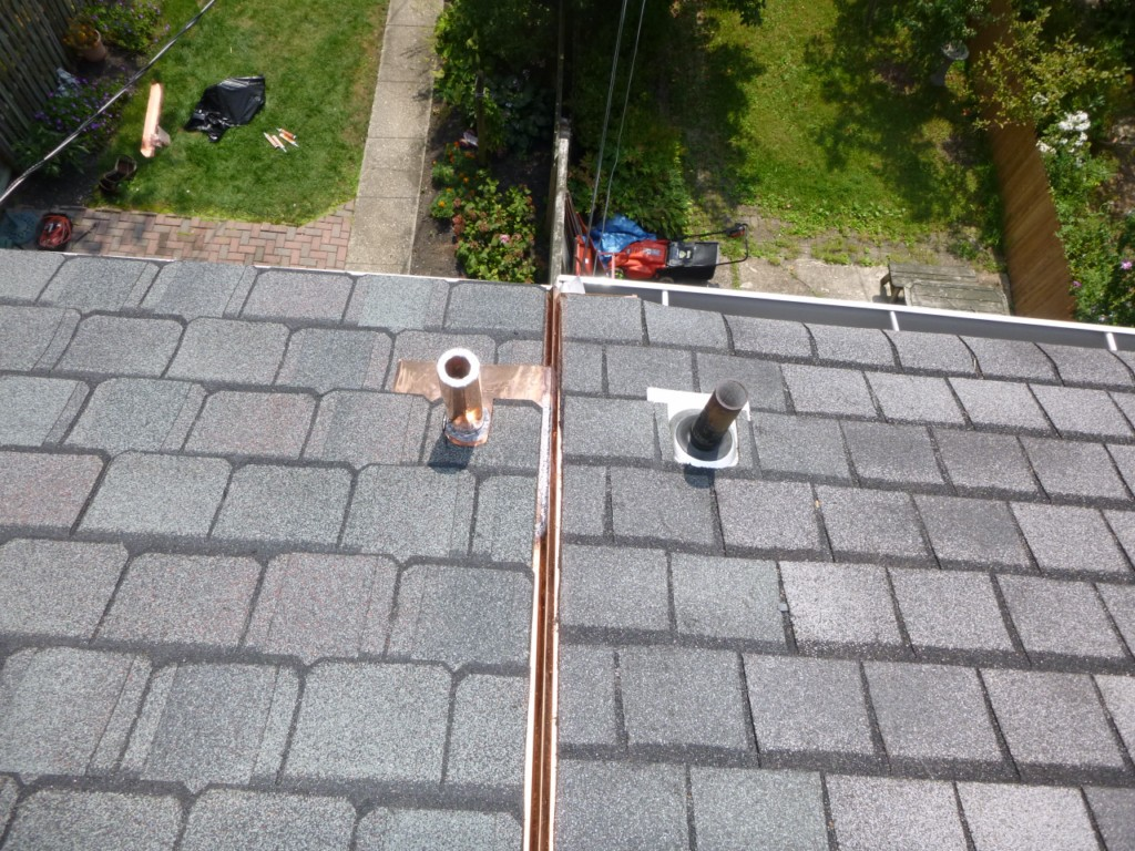 Certainteed Grand Manor Asphalt Shingles Per Rodgers Forge Architectural Guides Lines New 20oz Copper Roof Divider Installed Manufacturers